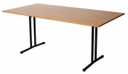 Open Folding Table