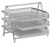 3 Tier Mesh Paper Tray