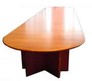 Veneer D End Boardroom Table